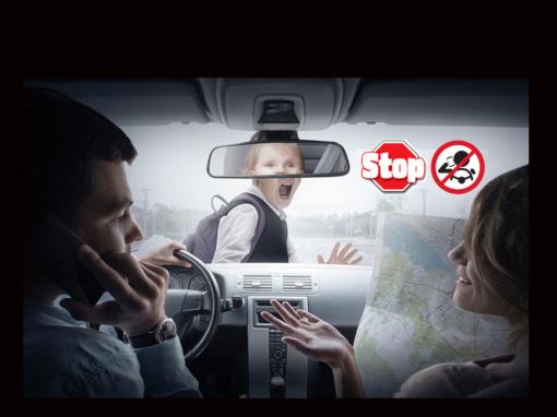 El número de accidentes automovilísticos con niños aumenta durante las vacaciones escolares. ¡Ten cuidado!